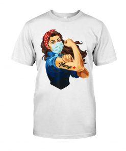 We can do it woman Nurse T-shirt