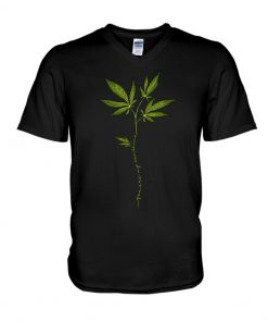 You Are My Sunshine Weed Cannabis V-neck