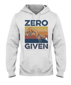Zero Given fox vintage hoodie