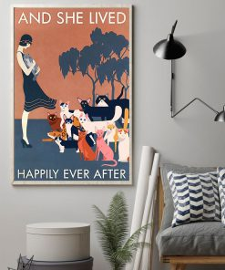 And she lived happily ever after cat poster 3