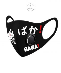 Baka toilet paper Coronavirus filter face mask right