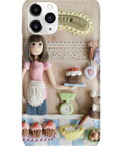 Baking Girl Doll phone case 11