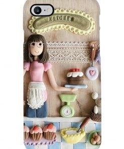 Baking Girl Doll phone case 7
