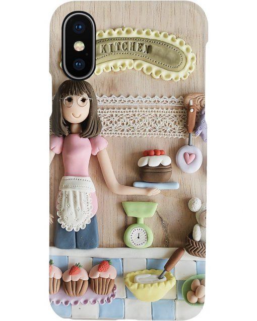 Baking Girl Doll phone case x