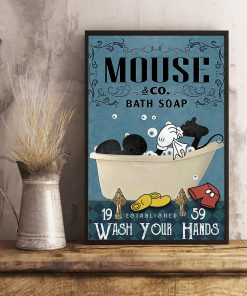 Bath Soap Company Mickey mouse vintage poster 4