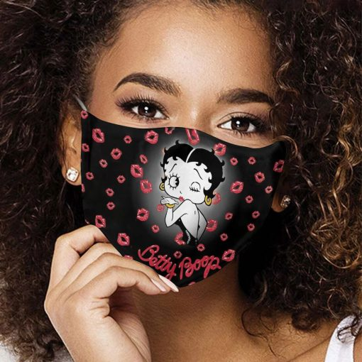 Betty Boop cloth mask