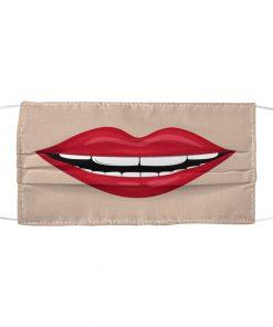 Big mouth 3D face mask