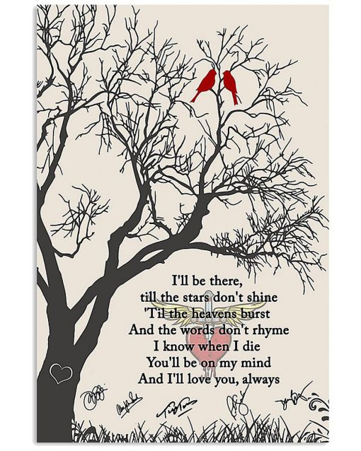 Bon Jovi - Always I'll be there, till the stars don't shine poster1