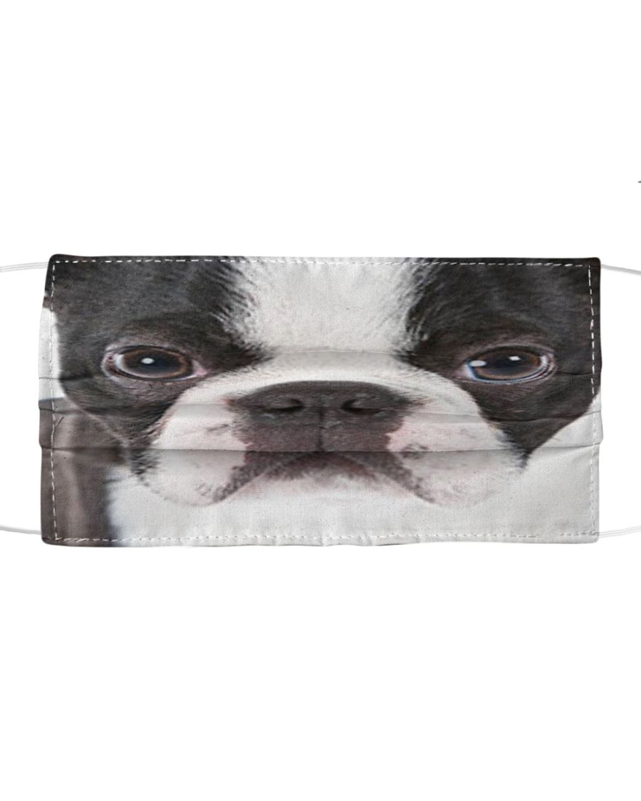 Boston Terriers 3D Cloth Face Mask 2