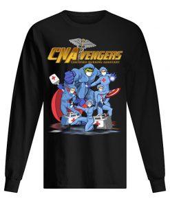 CNA Avengers Certified Nursing Assistants Heroes Covid 19 long slveeed