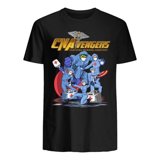 CNA Avengers Certified Nursing Assistants Heroes Covid 19 shirt