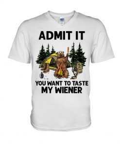 Camping Admit It You want to taste my wiener v-neck