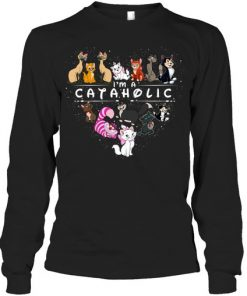 Cat I'm a Cataholic long sleeved