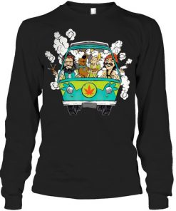Cheech And Chong Scooby-Doo Weed Car Long sleeve