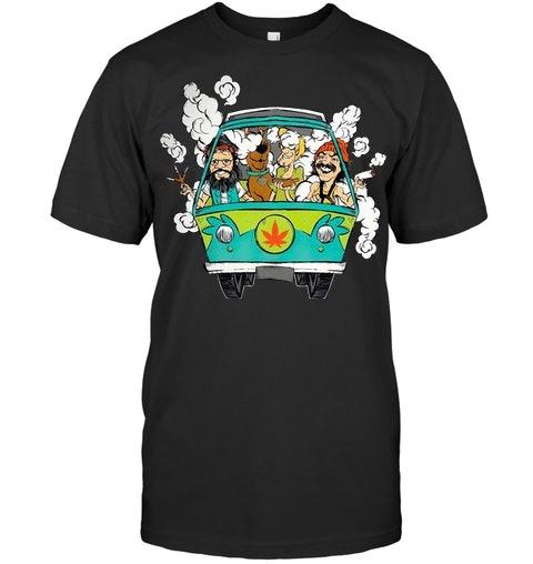 Cheech And Chong Scooby-Doo Weed Car T-shirt