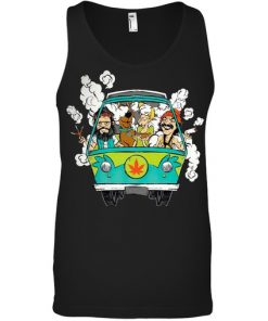 Cheech And Chong Scooby-Doo Weed Car Tank top