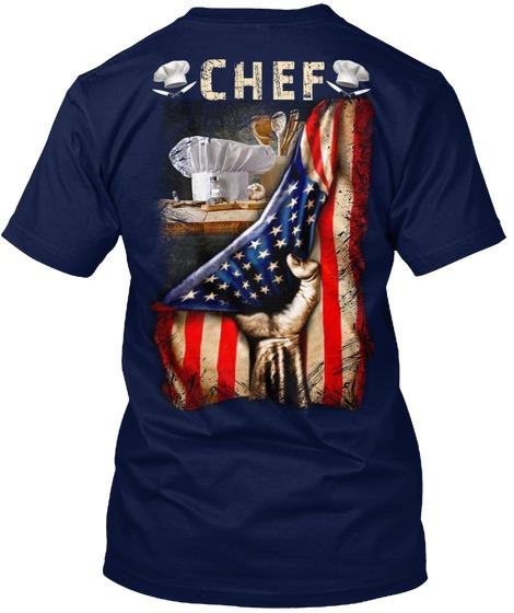 Chef Proud American Flag shirt