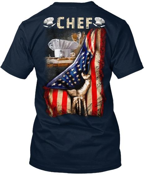 Chef Proud Flag shirt v-neck