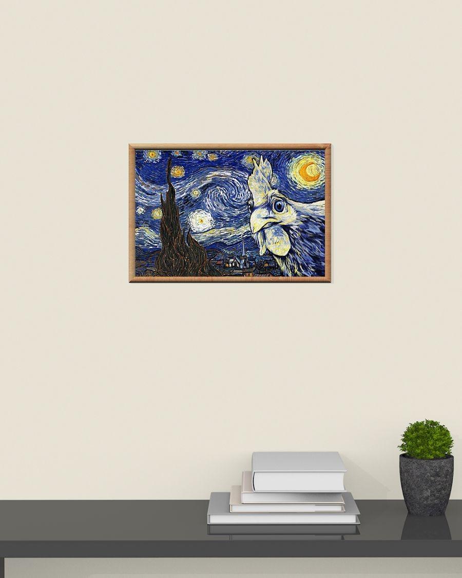 "Skull by Vincent Van Gogh Canvas Print Poster 36/"" X 24/"""