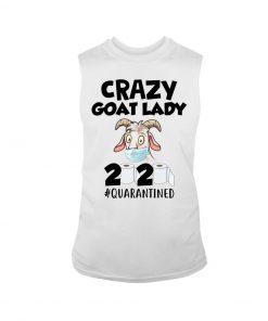 Crazy Goat Lady 2020 Quarantined tank top