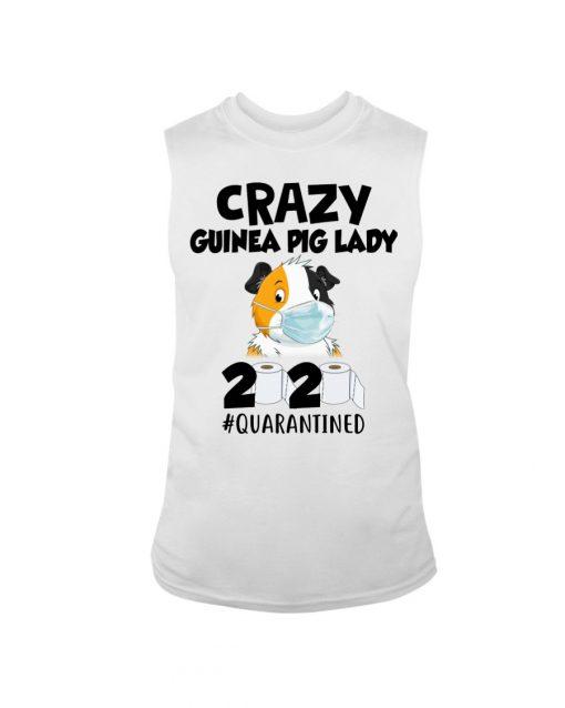 Crazy Guinea Pig Lady 2020 quarantined tank top