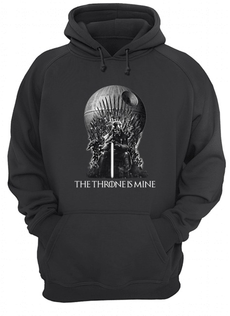 Darth Vader The Throne is mine hoodie