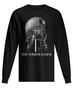 Darth Vader The Throne is mine long sleeved