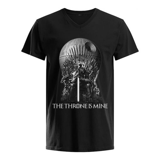 Darth Vader The Throne is mine v-neck