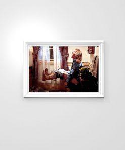 Dumb and Dumber Toilet Scene Harry Dunn Bathroom Poster 4