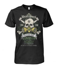 Five Finger Death Punch 2020 Covid-19 Pandemic Skull T-shirt