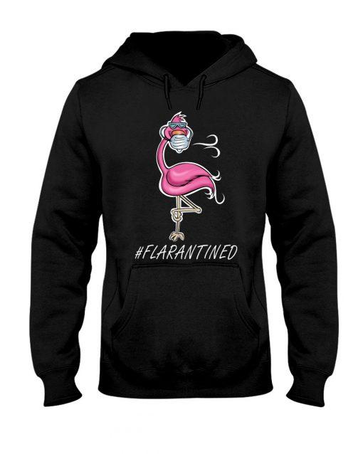 Flamingo Quarantined hoodie