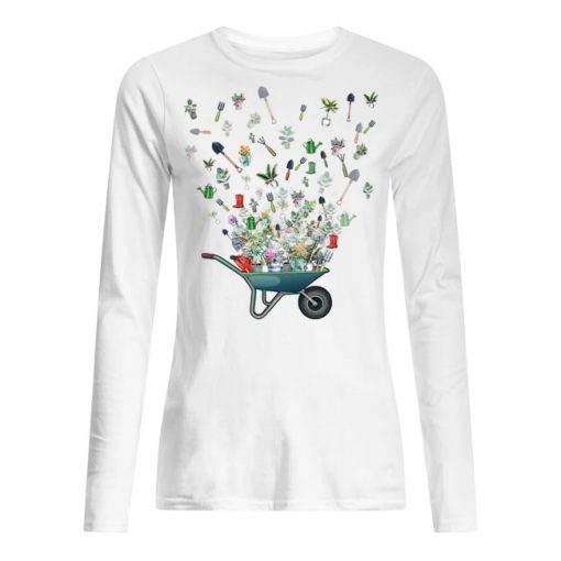Garden tool flying Long sleeve