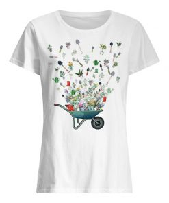 Garden tool flying T-shirt