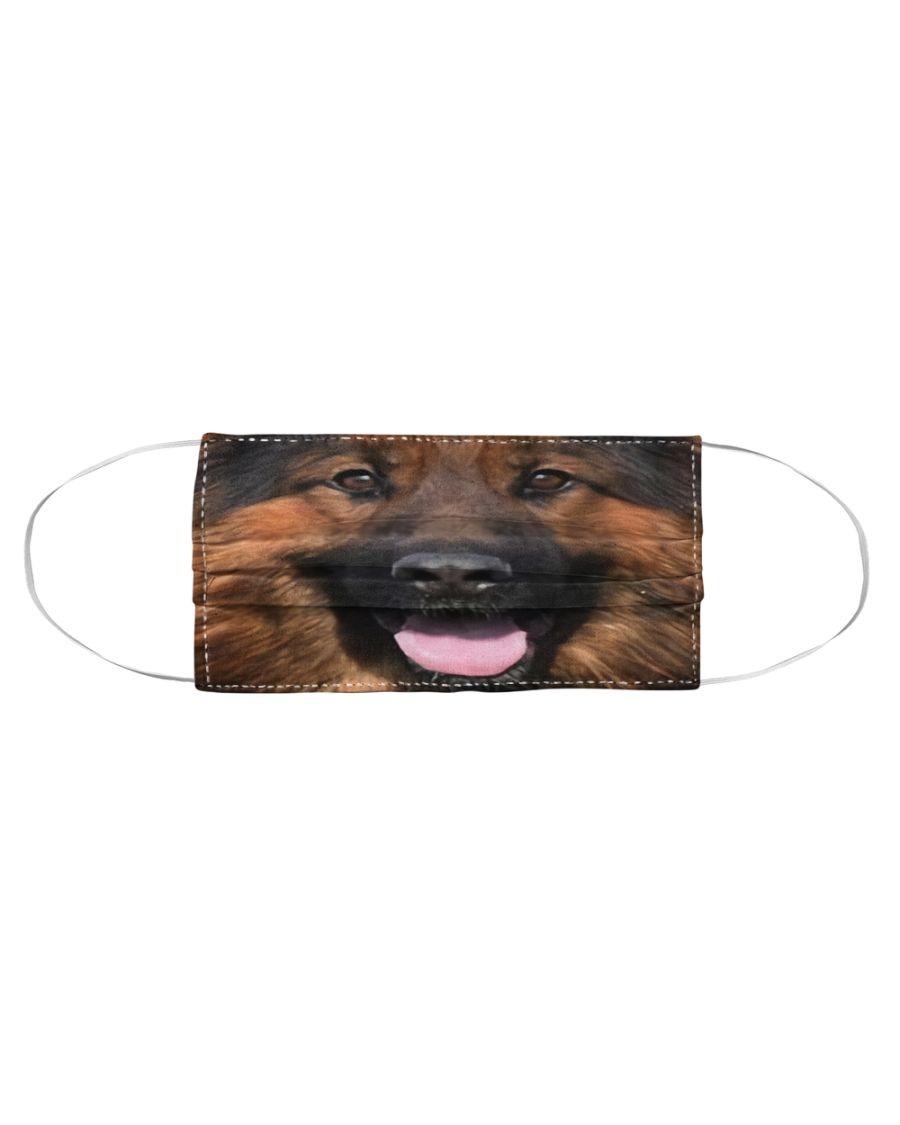 German Shepherd 3D cloth face mask2