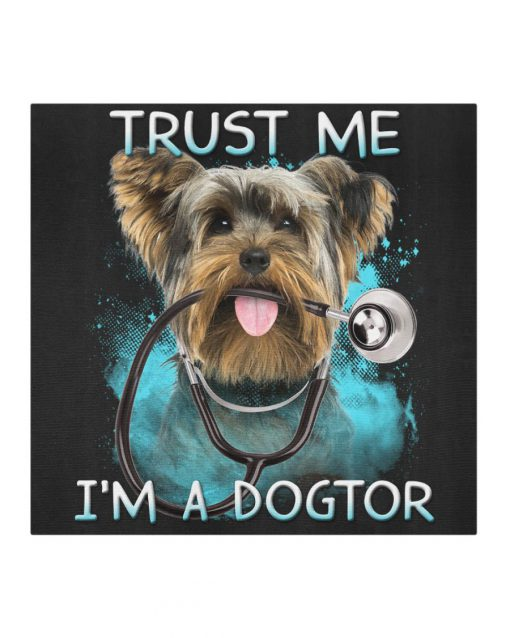 Golden Retriever Doctor Trust me I'm a dogtor cloth mask 2