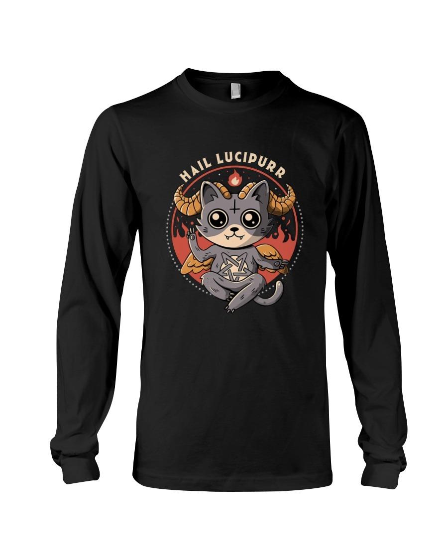 Hail Lucipurr Stan Cat long sleeved