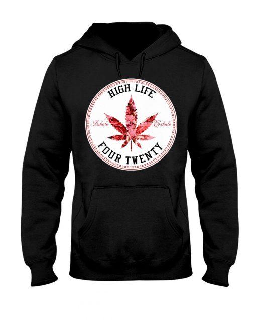 High Life Four Twenty Weed hoodie