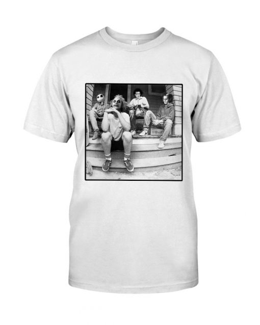 Horror characters Minor Threat - Salad Days shirt