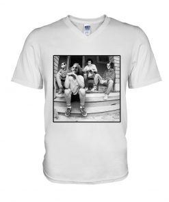 Horror characters Minor Threat - Salad Days v-neck