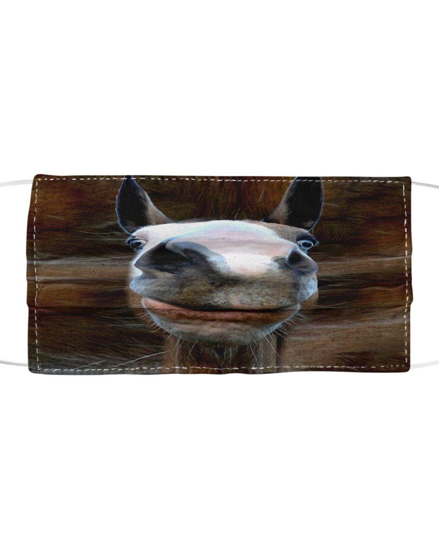 Horse 3D cloth face mask2