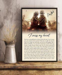 I Cross My Heart Lyrics Poster3
