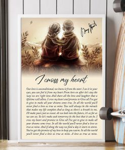 I Cross My Heart Lyrics Poster4