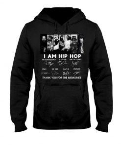 I am hip hop signatures hoodie