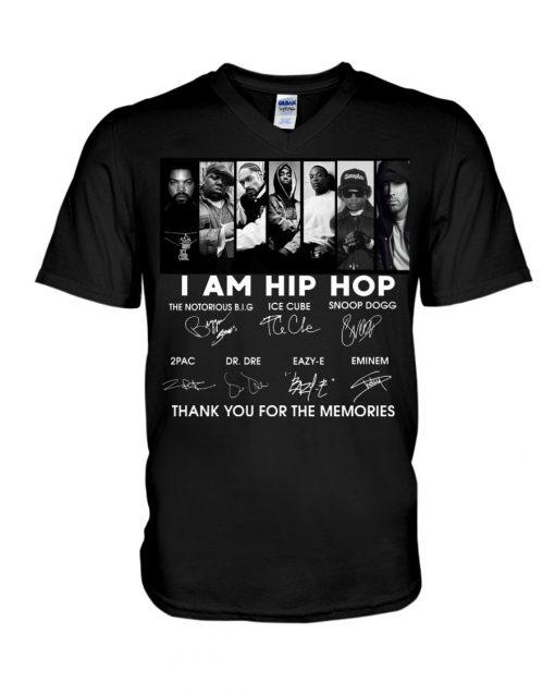 I am hip hop signatures v-neck
