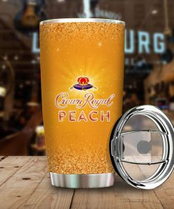 I only drink Crown Royal Peach 3 days a week yesterday today and tomorrow tumbler 3