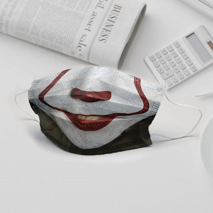 IT Pennywise 3D cloth face mask 0