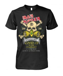 Iron Maiden 2020 Covid-19 Pandemic Skull shirt