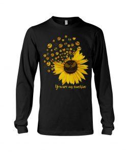 Jack Skellington Sunflower You are my sunshine Long sleeve