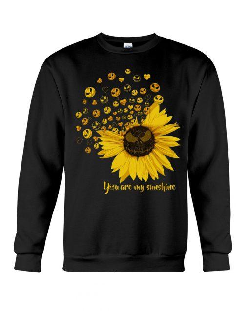 Jack Skellington Sunflower You are my sunshine Sweatshirt