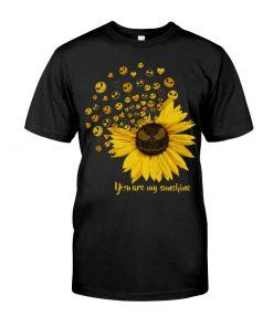 Jack Skellington Sunflower You are my sunshine T-shirt